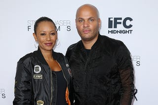 Mel B and Stephen Belafonte (Phillip Faraone/Getty Images)