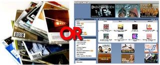Illustration for article titled Alpha Geek: CDs vs. Downloads