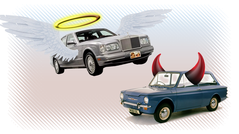 Illustration for article titled The Ratio Of Demonically-Named Cars To Angelically-Named Cars Is Way Out Of Balance