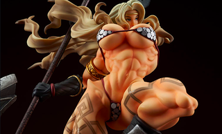 Illustration for article titled This Dragon's Crown Statue Is Freaking Me Out