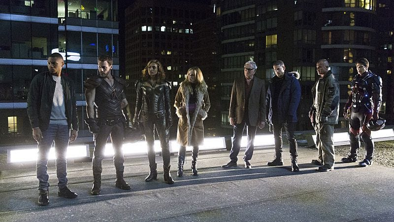 Illustration for article titled DC's Legends Of Tomorrow shows considerable promise despite an uneven debut
