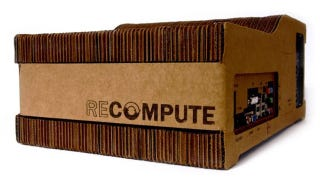 Illustration for article titled Recompute Is an Environmentally Friendly Cardboard Computer