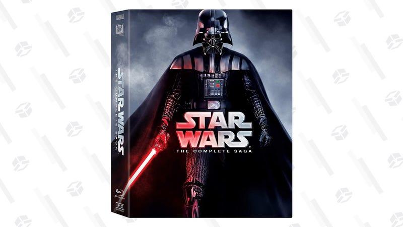 Star Wars: The Complete Saga | $58 | Amazon