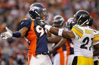 Illustration for article titled NFL Wildcard Weekend: Pittsburgh Steelers at Denver Broncos