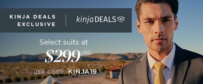 Indochino Seasonal Suits | $299 | Indochino | Promo code KINJA19 | Hamilton suits drop to $349 at checkout with code