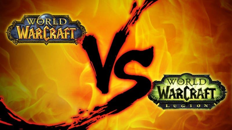World Of Warcraft Showdown Then Vs Now
