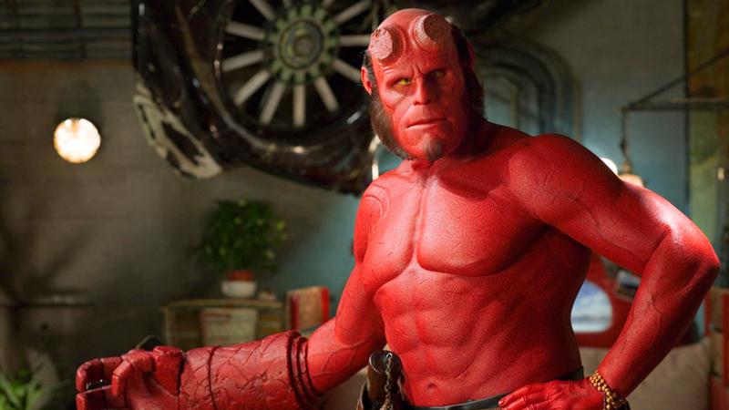 Ron Perlman as Hellboy.