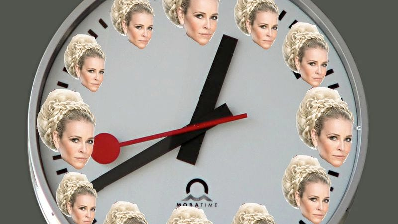 """Illustration for article titled Chelsea Handler heads to Netflix, conquers human concept of """"time"""""""