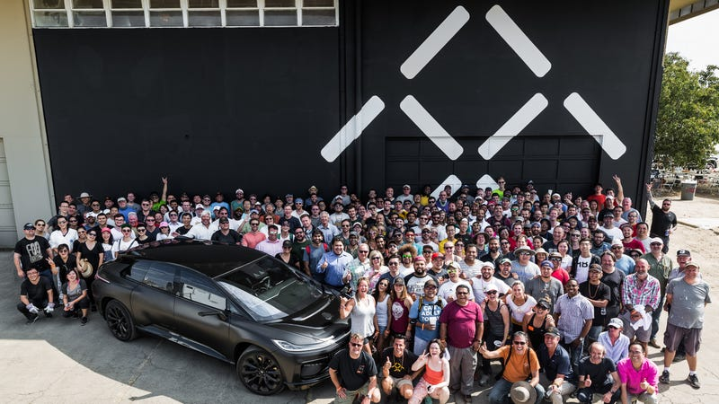 Tesla competitor Faraday Future previews 1 million square foot Hanford facility