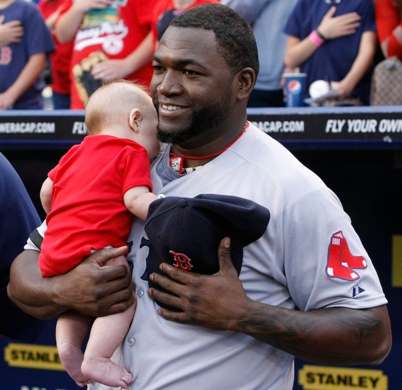 Illustration for article titled David Ortiz Found A Baby Somewhere