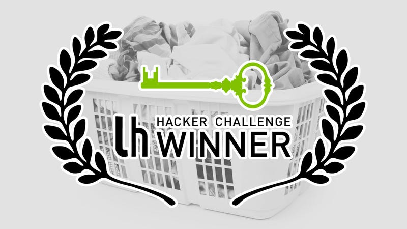 Illustration for article titled Hacker Challenge Winner: Dominate Your Cleaning With a Laundry Basket
