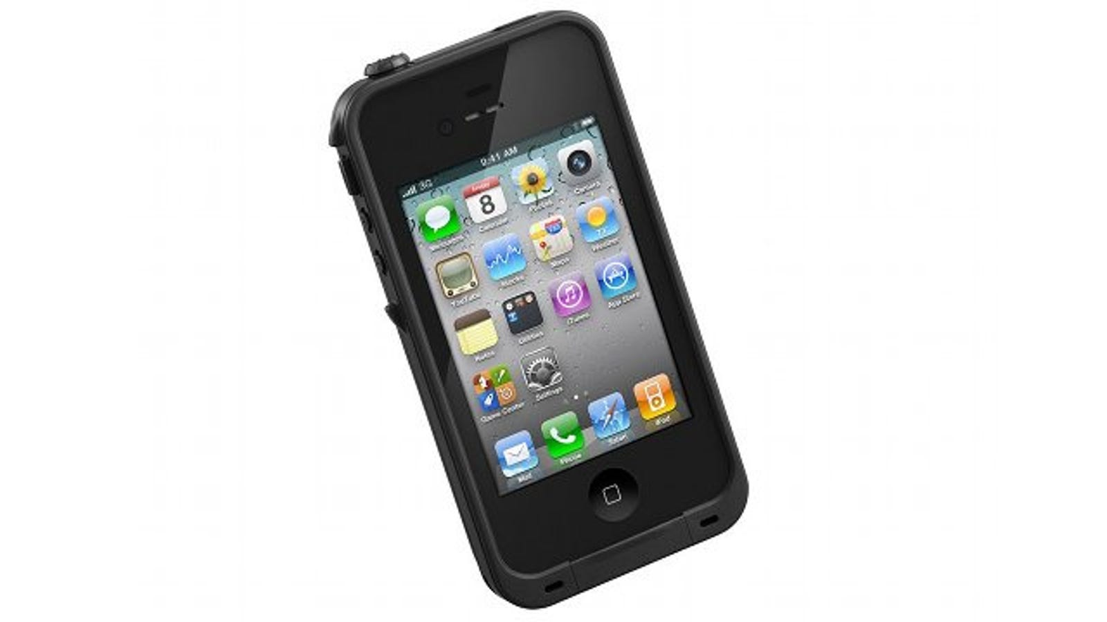 lifeproof case for iphone 4s the waterproof dustproof shock proof iphone 4s 7126