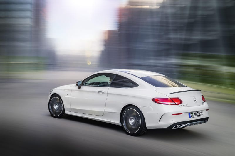 Illustration for article titled Quick gripe about the C-Class Coupe
