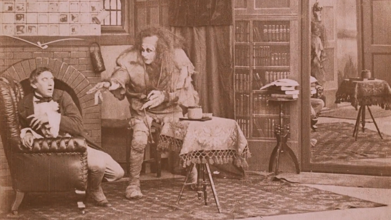 Illustration for article titled Watch This Beautifully Restored 1910 Movie Adaptation of Frankenstein For Halloween