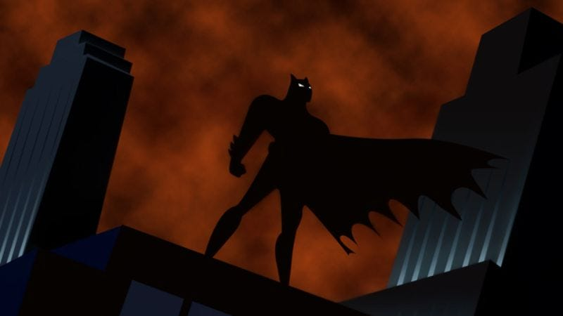 Illustration for article titled The DC Animated Universe