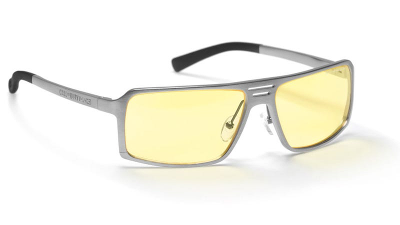 Illustration for article titled These Gaming Glasses Have Modern Warfare 3 Written All Over Them