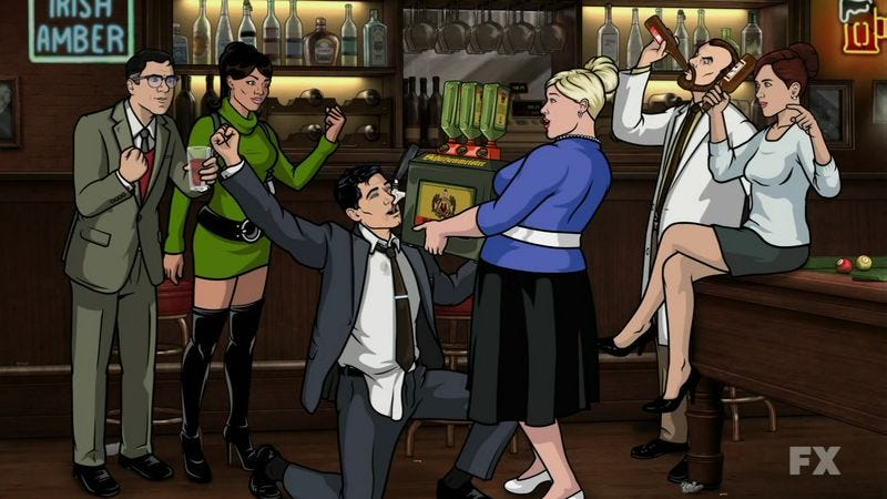 Illustration for article titled Comedy Central to give you even more Archer