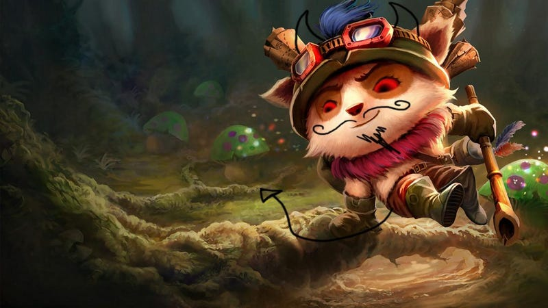 How Riot Made Teemo The Biggest Troll Champion In League Of Legends