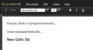 Illustration for article titled Adobe Brings Out Online Word Processing App Buzzword