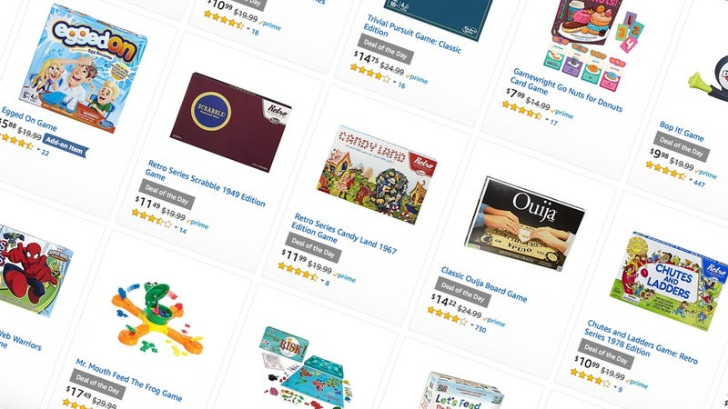 Amazon Board Game Sale