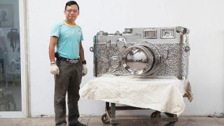 """Illustration for article titled 350kg Stainless Steel """"Fake Leicas"""" Aren't Fooling Anybody"""