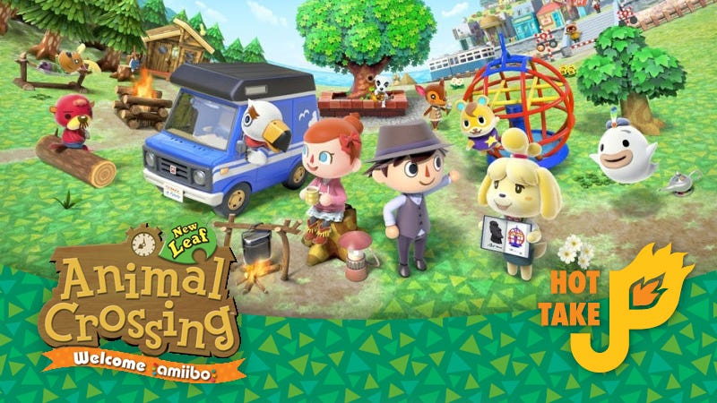 Illustration for article titled Hot Take: Animal Crossing: New Leaf: Welcome Amiibo Update (3DS)