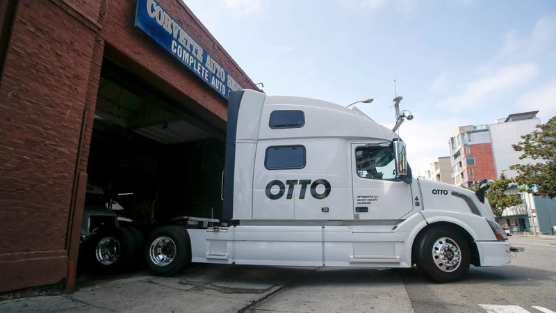 Uber acquired self-driving truck startup Otto in 2016