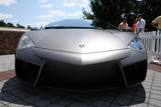 Illustration for article titled Lamborghini Reventon Makes First Drive Straight to Meadow Brook Concours