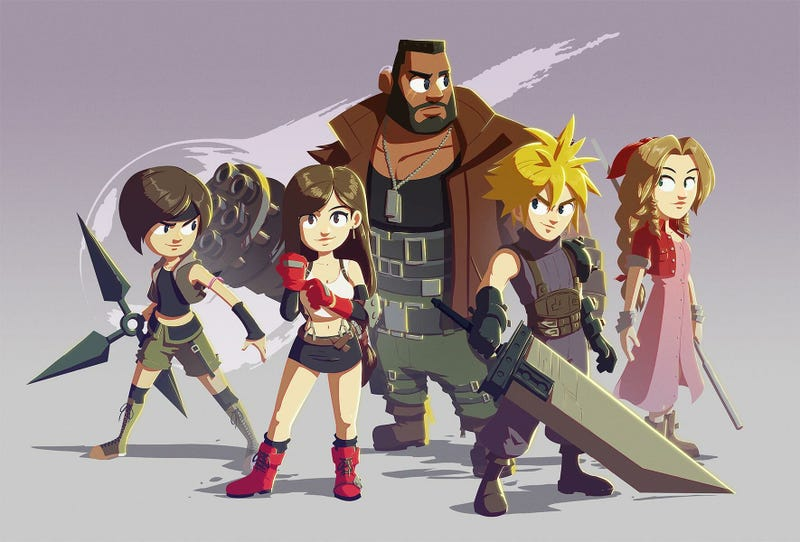 Illustration pour l'article intitulé A Final Fantasy VII Bedtime Story