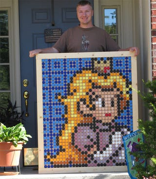 Illustration for article titled Check Out The Bottle Caps On This Princess Peach