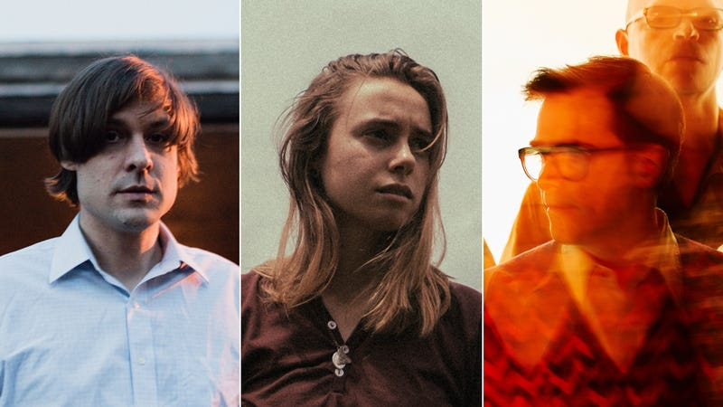 John Maus (Photo: Shawn Brackbill), Julien Baker (Photo: Nolan Knight), Weezer (Photo: Jeremy Cowart)