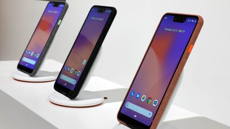 Pixel 3 phones.