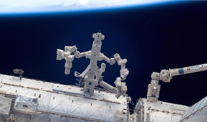 on international space station robot - photo #9