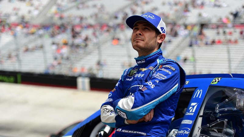 Kyle Larson at Bristol Motor Speedway. Photo credit: Jared C. Tilton/Getty Images