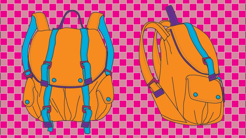 Illustration for article titled There's a Penis on My Backpack