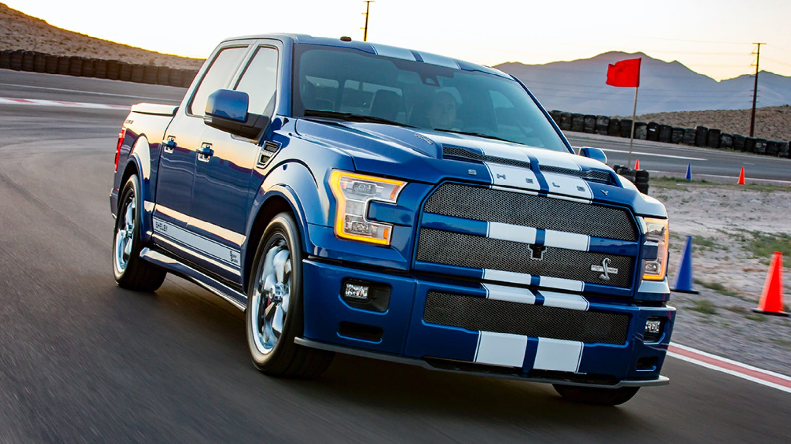 The 750 hp shelby f 150 super snake is murica in truck form