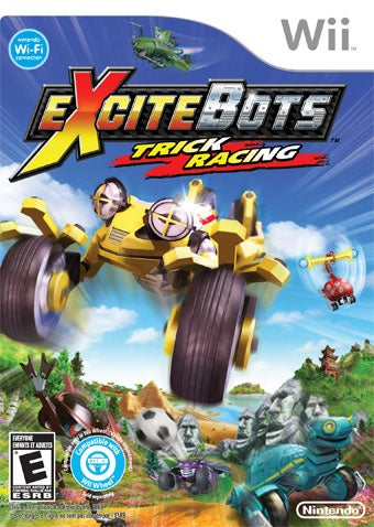 Illustration for article titled Excitebots: Trick Racing Review: ***********