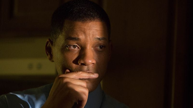 Illustration for article titled Will Smith's confidence goes quiet in the workmanlike Concussion