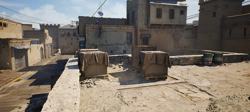 Illustration for article titled Counter-Strike's Iconic De_Dust 2, Remade In Unreal Engine 4