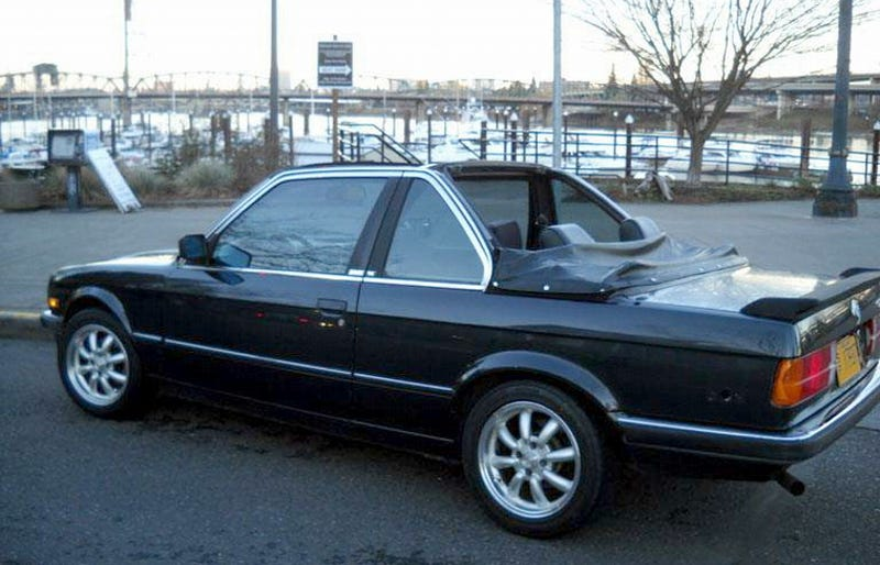 For $4,000, Could This 1985 BMW 320i Baur Cabrio Get You To Go Topless?