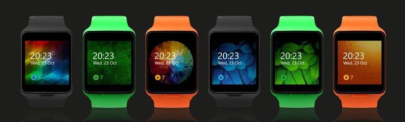 Illustration for article titled Nokia Moonraker: así funcionaba el smartwatch que iba a acompañar al último smartphone de Nokia