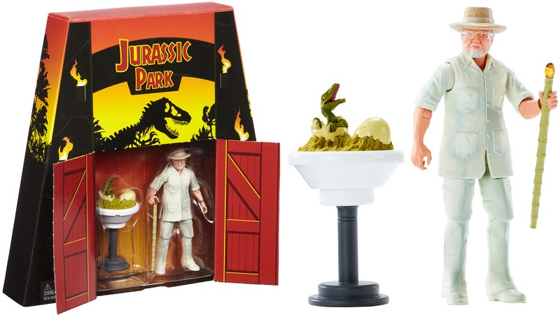 Illustration for article titled You'll Spare No Expense for This Comic-Con Exclusive Jurassic Park John Hammond Figure