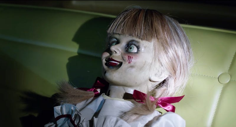 How did Annabelle get those scars? Never mind, we don't want to know.