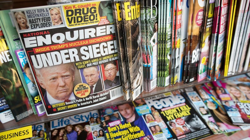 Illustration for article titled National Enquirer Has a Literal Safe Full of Damaging Trump Stories It Killed