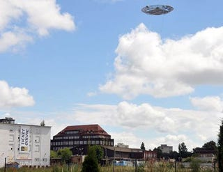 Illustration for article titled UFO Over Gdansk