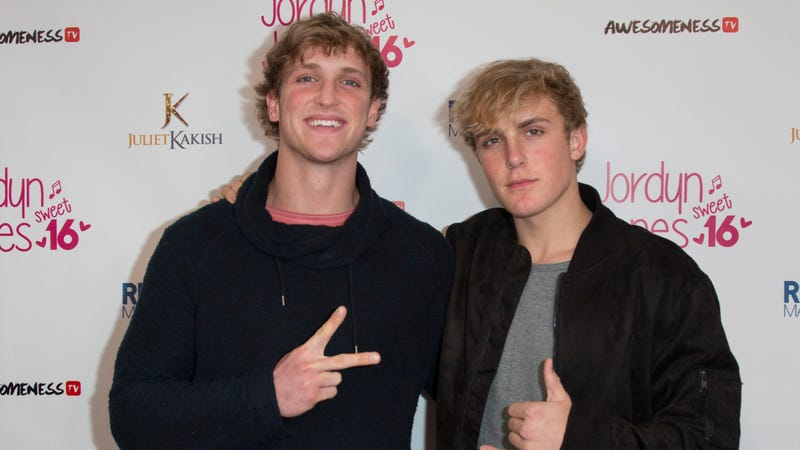 Logan and Jake Paul (Photo: Tasia Wells/Getty ImageS)