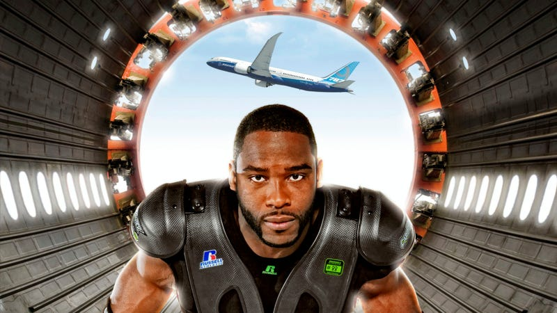 Illustration for article titled Boeing's Carbon Fiber Is Helping Protect Football Players