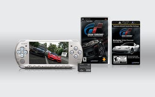 Illustration for article titled Limited Edition Gran Turismo PSP Comes With Music Voucher