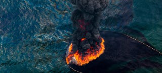 Illustration for article titled Strikingly beautiful pictures show the horrors of the BP oil spill