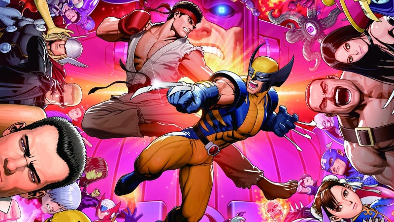 Illustration for article titled This Weekend May Decide The Greatest Marvel vs. Capcom 3 Player Of All Time